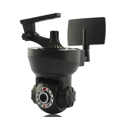 Night Vision IP Camera with Remote Angle Cont