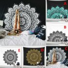 Indian Mandala Tapestry Wall Hanging Lotus Flower Bohemian Square Table Cover Home Decoration 148 * 148cm