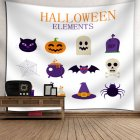 Indian Tapestry Wall Hangings Fun Halloween Pumpkins Home Decor Tapestries 14_150*130
