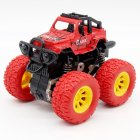 Inertia Shockproof Four-wheel Drive SUV Baby Child Boy Simulation Vehicle Model Car Anti Crash Toy red