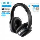 Original EDIFIER W860NB Bluetooth Headphones ANC Touch Control NFC Apt-X Audio Decoding Wireless Earphone black