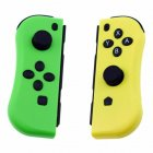 Joy-Con Game Controllers Gamepad Joypad for Nintend Switch Console Left + Right yellow-green