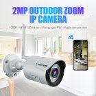 K22 Camera HD 1080P 2MP 4x Zoom Wireless Security Surveillance IP Camera Waterproof Night Vision IR-Cut H.264 Video Night Vision for Home/Office/Road US Plug