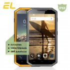 KENXINDA E&L W7 4G LTE Smartphones IP68 Waterproof 5.0inches Andriod 5.1 MTK6735 Quad Core 1GB 16GB 1280X720 Dual SIM Mobile Phone yellow