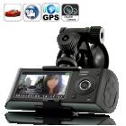 Buy Dual Camera Car Blackbox DVR GPS Logger G-Sensor