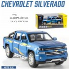 Kids 1:32 Alloy Car Modeling Light Sound Toy Decoration Matte blue