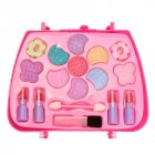 Kids Girl Makeup Set Eco friendly Cosmetic Pretend Play Kit Princess Toy Gift