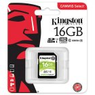 Kingston SDS Canvas Select SD Memory Card Storage Card green_16G