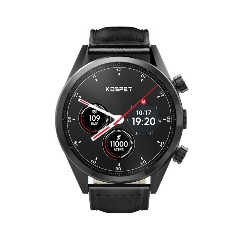 Kospet Hope SmartWatch Phone - Leather Strap