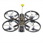 LDARC/KINGKONG HD140-FPV 140mm 2.8 Inch 4S FPV Racing Drone PNP/BNF F4 OSD 20A ESC Runcam Nano2 Cam Without receiver