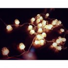 LED Beads Pine Corn LED Light String Home Tree Hangings Ornaments Decoration Pine cone 6 meters 40 lights USB models