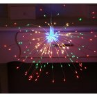 LED Solar Copper Wire Fireworks String Light for Christmas Outdoor Garden Decoration colors_40 200LED solar models