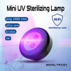 LED Sterilization Lamp Handheld Ultraviolet Germicidal Light for Home Cabinet Car Ziguang