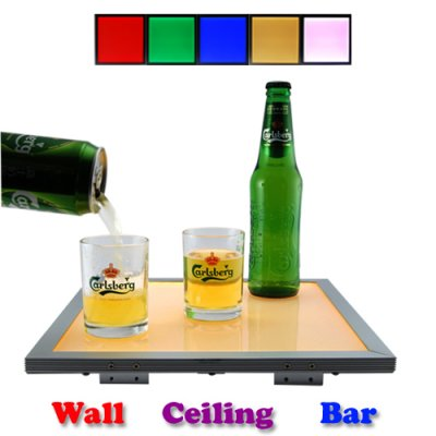 LED Color Changing Panel Light with Remote Control