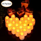 LITAKE Candle Shape Flameless LED Tea Lights
