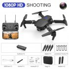 LS-E525 Drone 4k RC Drone Quadcopter Foldable Toys Drone with Camera HD 4K WIFi FPV Drones One Click Back Mini Drone Single lens 1080P storage packaging black