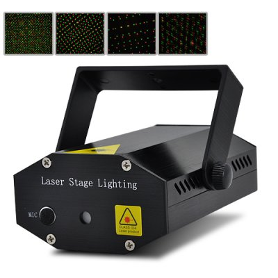 Mini Laser Effects Projector