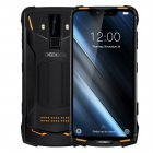 DOOGEE S90C Mobile Phone 6.18inch Display 5050mAh MTK Helio P70 Octa Core 4GB RAM+64GB ROM 16MP+8MP Camera Android 9.0 IP68 Waterproof Orange_European version