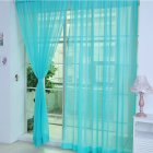 Tulle Voile Drape Panel Sheer Scarf Valances