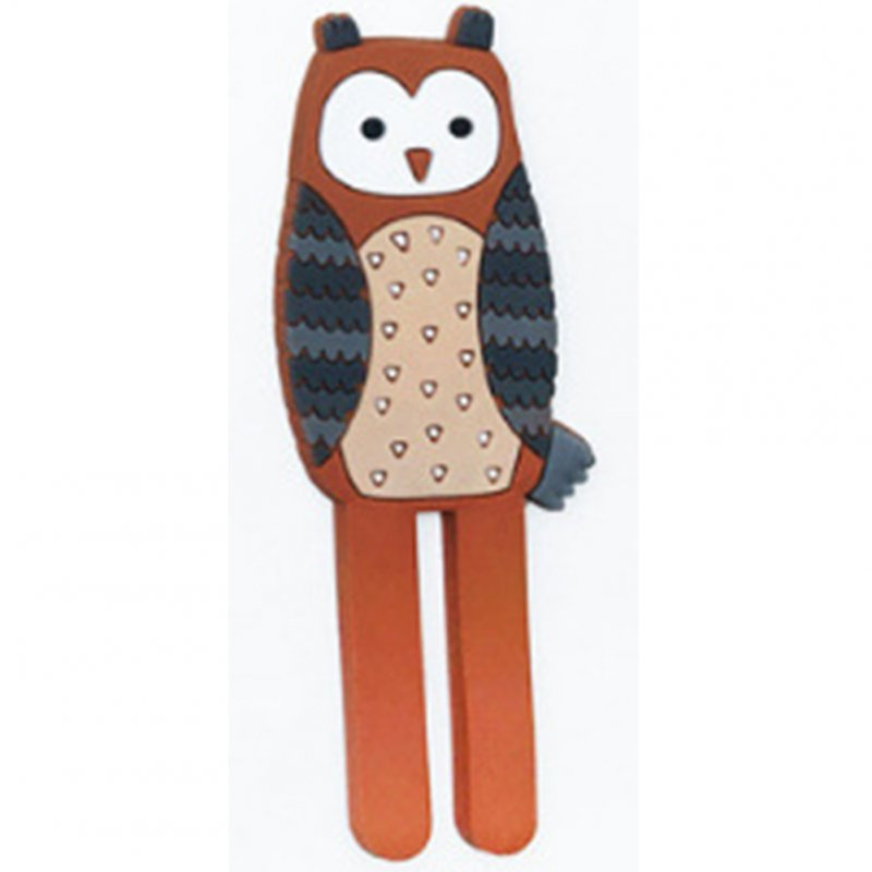 Lovely Cartoon Animal Shape Mag Refrigerator Sticker Hanging Hook Home Accessories  owl