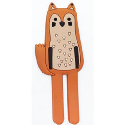 Lovely Cartoon Animal Shape Mag Refrigerator Sticker Hanging Hook Home Accessories  fox