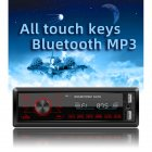 M10 Car Touch Screen Dual USB Vehicle-mounted Bluetooth MP3 Player SD Card U Disk Redio Video Display black