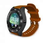 M11 Smart Watch Men and Women 2020 Sports Bluetooth Fitness Smart Watch Sim TF for Android IOS Brown