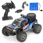 MGRC Mini RC Car 1/18 2.4G 4CH 2WD High Speed 20KM/h Brush Crawler Remote Controller Car Kids Toys blue