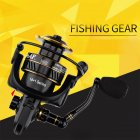 Fishing Reel Lure Spinning Fishing Reel Metal Fishing Rod Reel BS2000