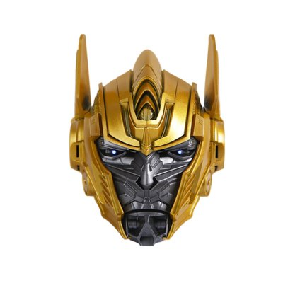 Marvel Bluetooth Speaker Optimus Prime Style Wireless Media Player Support TF Card Built-in 1200mAh Battery Gold