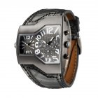 Men Business Quartz Watch Double Time Show Casual Sports Watches