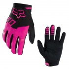 Men Outdoor Anti-Slip Riding Gloves - Pink S