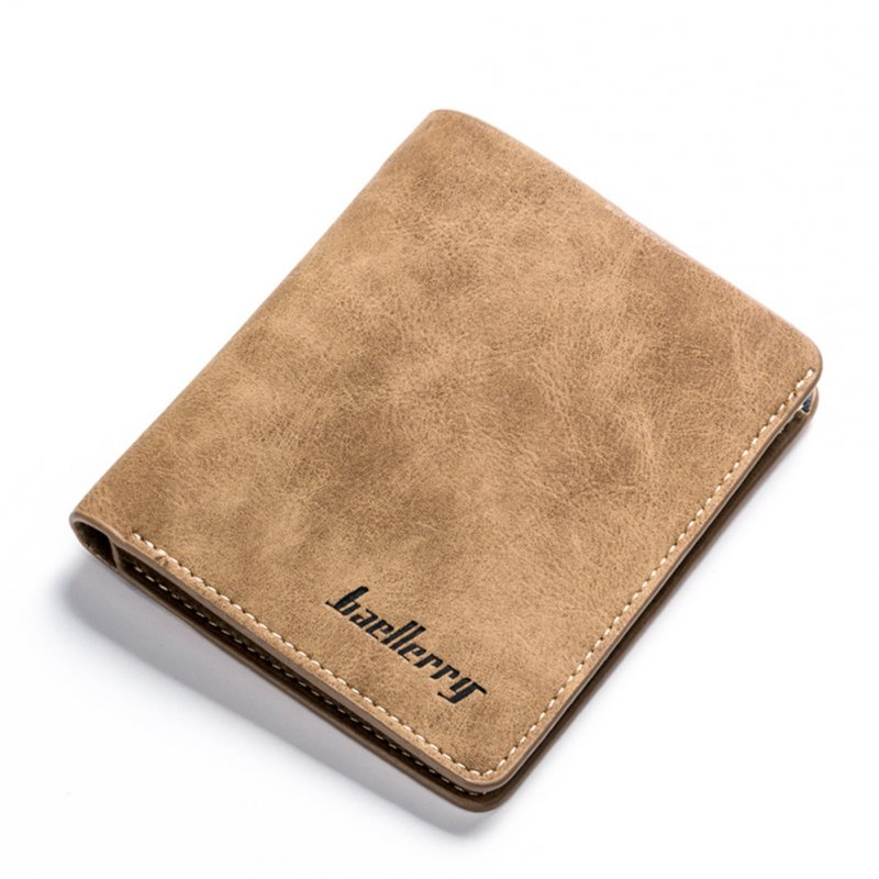 Male Purse Credit Card Holder Short Wallet