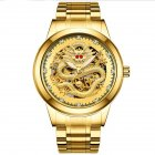 Men Mechanical Watch - All Gold