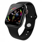 Men Women Bluetooth Smart Watch Music Camera Waterproof Heart Rate Monitoring Smart Bracelet black