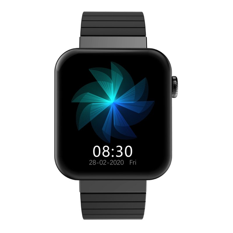 Mi5 Smartwatch Bluetooth Bracelet Sports Smartwatch With Call Control Heart Rate Fitness Tracker black