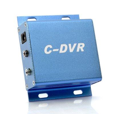 Mini Security DVR - Micro SD Card Recording, Metal