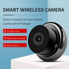 Mini WiFi Camera 720P Home Security Wireless Monitor Night Vision Motion Detection Indoor Outdoor Video Recorder  UK Plug