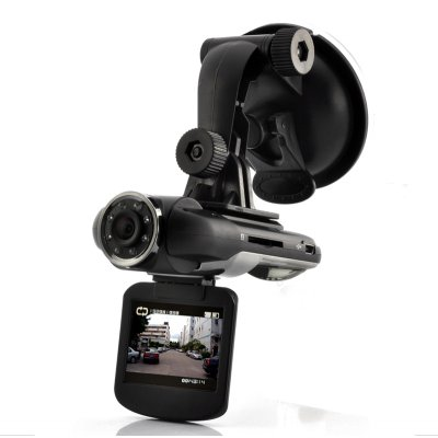 HD Car DVR Dashcam with Rotating Screen