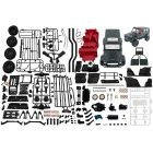 Mn Car Mn86k 1:12 Kit 2.4g 4wd Unassembled G500 230mm Wheelbase Crawler Off Road Truck Wpl Mn Rc Car 1/12 Diy 390 Brushed Motor as picture show