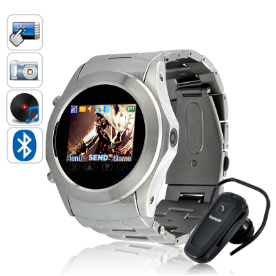 Metal 4 Band Watch Phone - Assassin Dawn