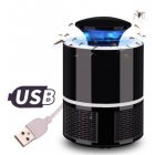 Mosquito Killer USB Electric Mosquito Killer Lamp Mute Home LED Bug Zapper Insect Trap Radiationless  black 13cm 13cm 19cm