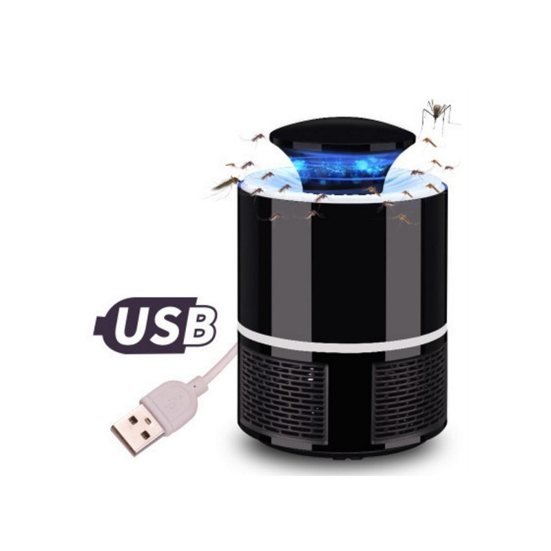 Mosquito Killer USB Electric Mosquito Killer Lamp Mute Home LED Bug Zapper Insect Trap Radiationless  black_13cm*13cm*19cm