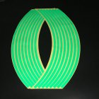 Motorcycle 12 - inch Reflective Wheel Sticker