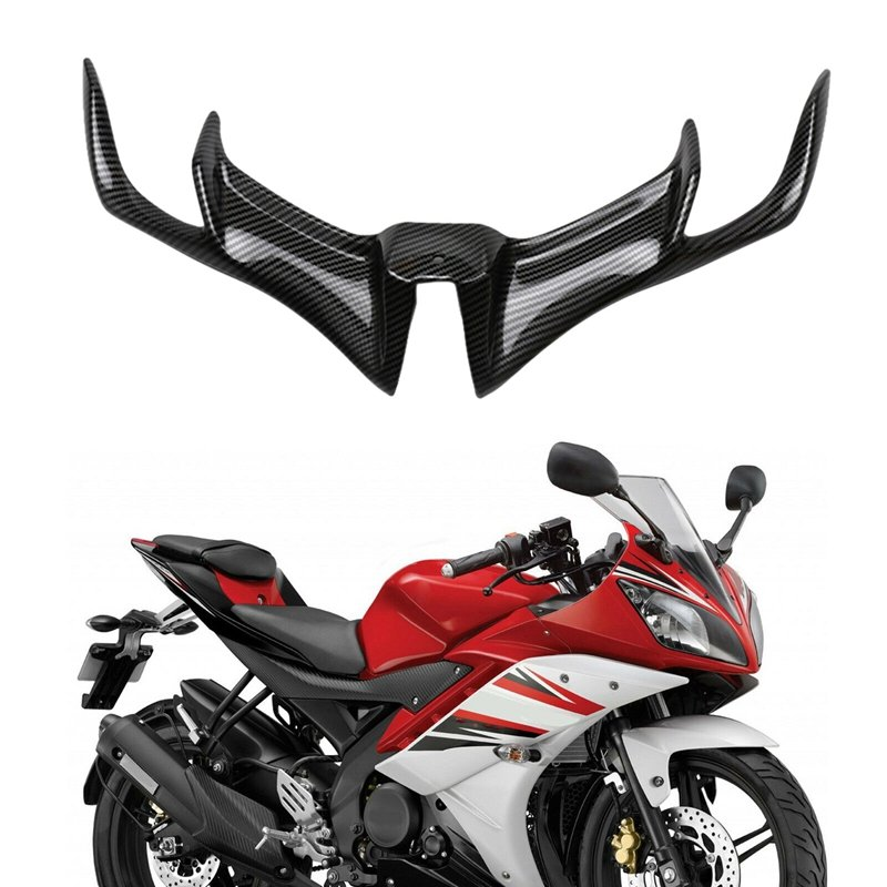 Motorcycle Front Fairing Aerodynamic Winglets ABS Lower Cover Protection Guard For YAMAHA YZF R15 V3.0 2017-18 Moto Accessories Water transfer