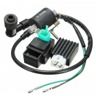 Motorcycle Ignition Coil CDI Unit Rectifier Regulator Fits for 110cc 125cc 140cc Pit Dirt Bike