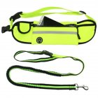 Multifunction Waterproof Retractable Dog Leash with Waist Bag for Outdoor Pet Sports Running