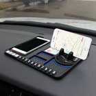 Multifunctional Car Anti-Slip Mat Auto Phone Holder Silicone Car Pad Mat blue