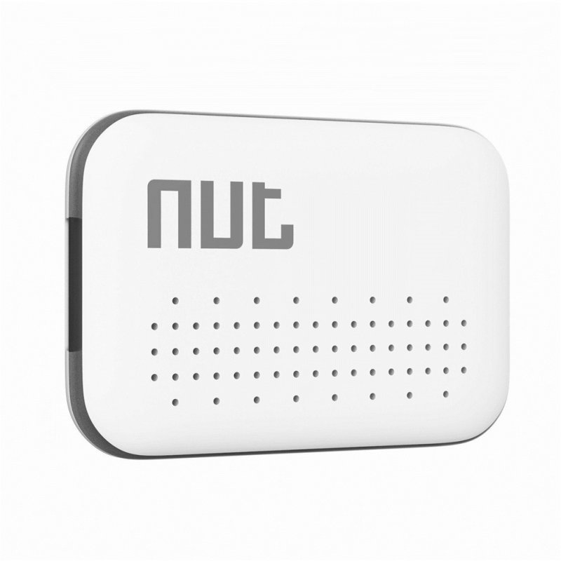NUT Mini Bluetooth 4.0 Smart Finder Anti-lost Wireless Tracker Low Power for Key Mobile Phone white