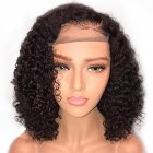 Natural Short Curly Wigs for Women Short Human Hair Density Wigs Ls-133